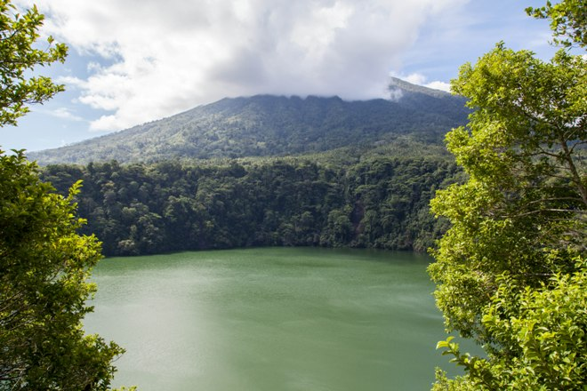 Danau Tolire Besar - озеро с крокодилами
