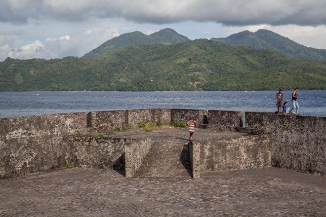 Остатки старинного форта
