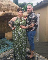 Тесс Холлидей и ее жених Ник  Холлидей готовы к пополнению в семействе