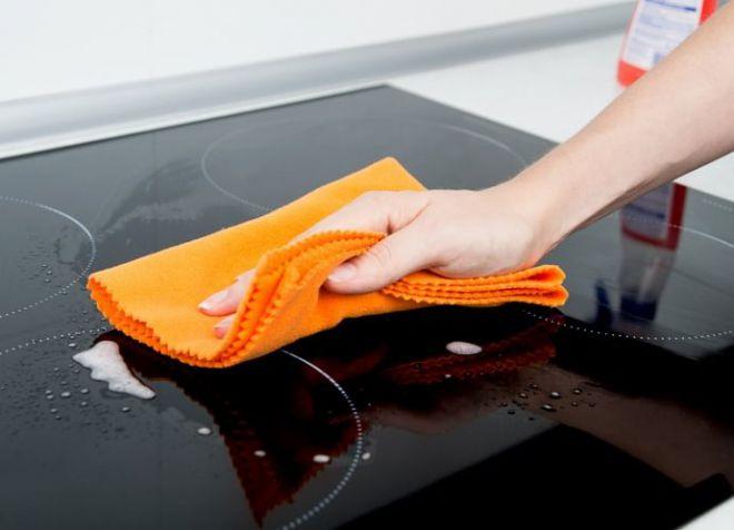 чистящее средство для плиты из стеклокерамики