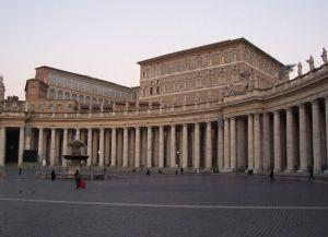 Апостольский дворец и площадь Петра