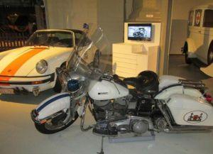 Один из первых мотоциклов