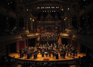 Сцена Большого театра в Женеве
