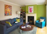 Połączenie kolorów we wnętrzu - wallpaper3