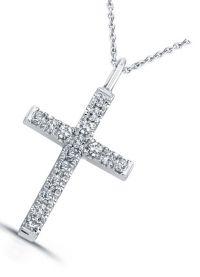 бяло злато кръст1