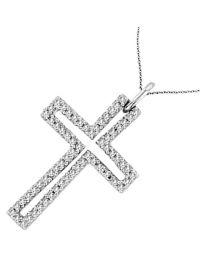 бяло злато кръст3