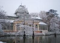 Хрустальный дворец зимой