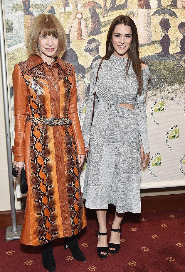 Анна Винтур с дочерью Би Шаффер