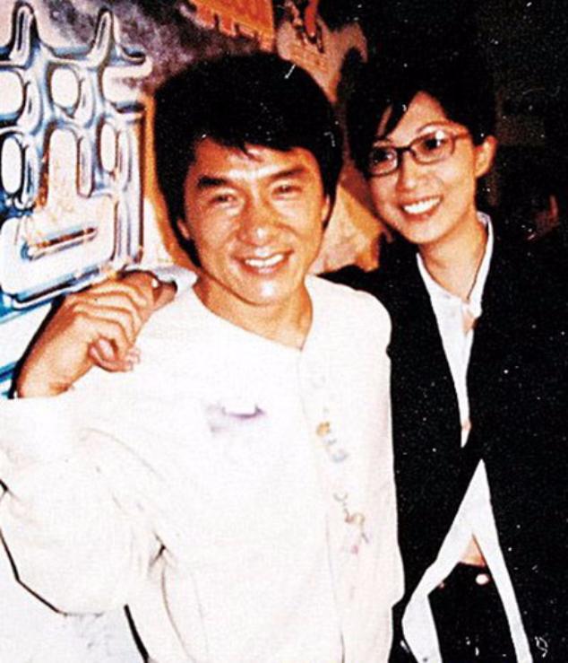 Джеки Чан и Элейн Нг