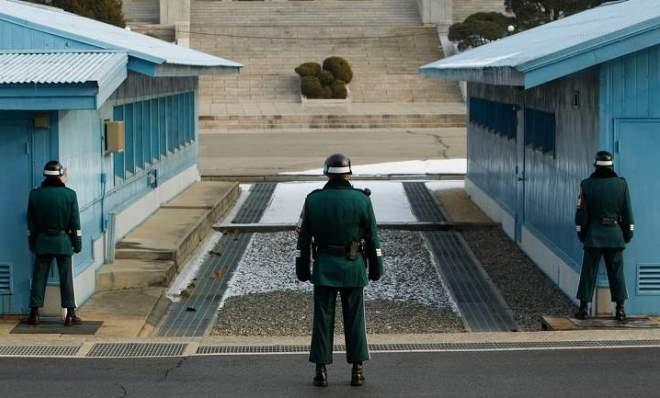 Официальная граница между Кореями
