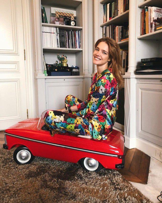 Наталья Водянова мама пятерых детей