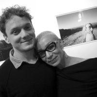 Антон Ельчин с мамой