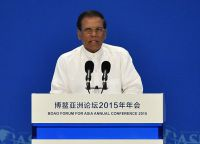 Президент страны Майтрипала Сирисена предложил побить их ядовитыми хвостами скат