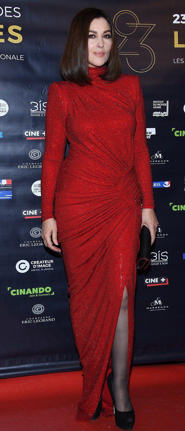 Моника Белуччи на  кинопремии Lumieres Award