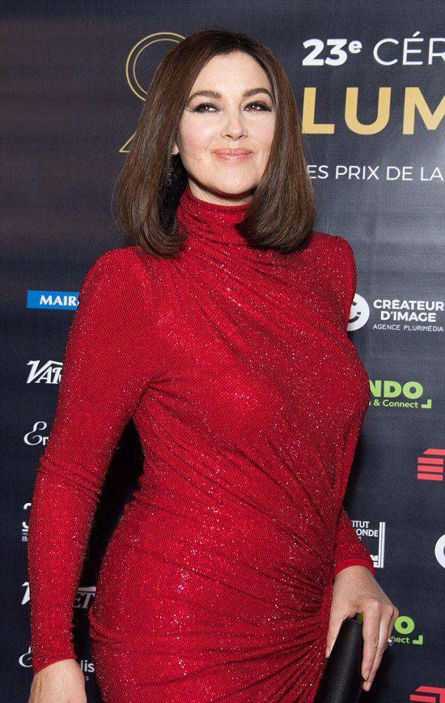 Моника Белуччи на премии Lumieres Award