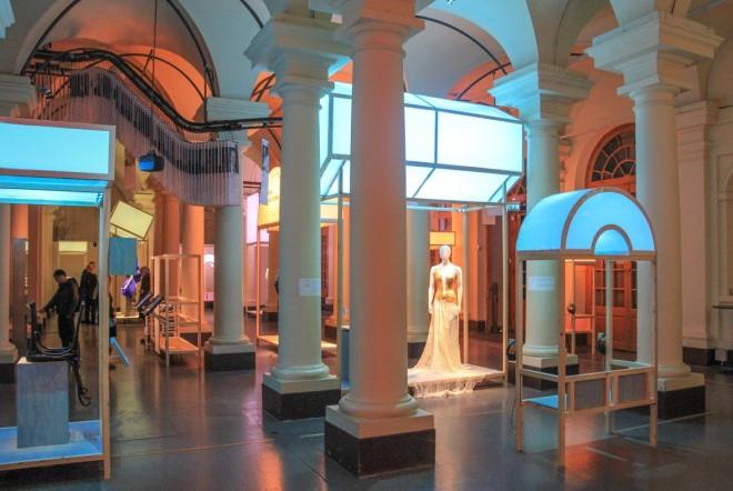 Классический интерьер музея