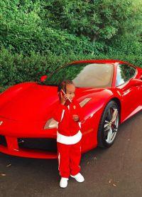 Ferrari, который у рэпера конфисковал банк
