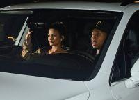 Кайли и Tyga отправились на вечеринку на новом автомобиле