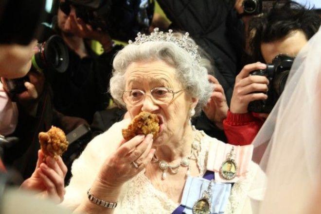 Что ест английская королева