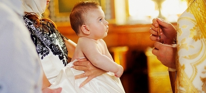 Ritam krštenja djeteta u pravoslavlju - pravila