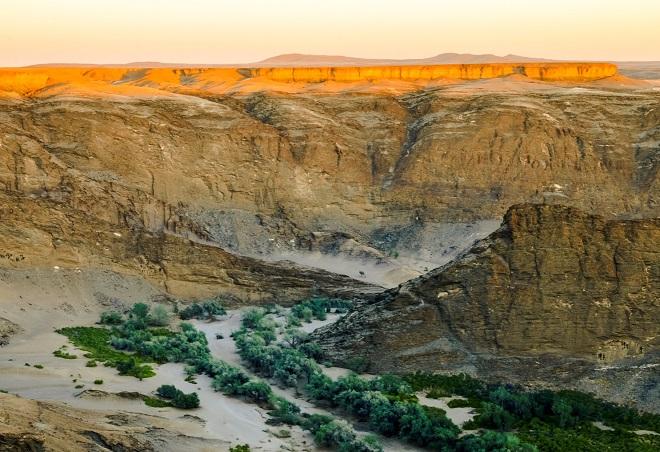 Высохшие реки Намибии