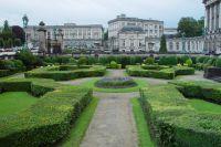 Парк вокруг дворца