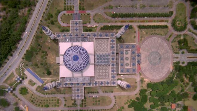 Мечеть - вид сверху