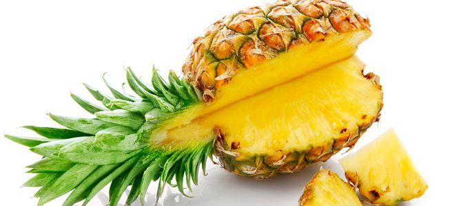 odchudzający ananas