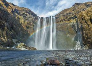 Водопад Скогавосс