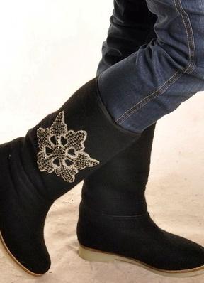 најтоплије женске зимске ципеле 8
