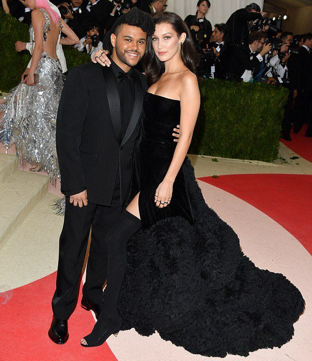 Белла Хадид и The Weeknd в мае 2016 года