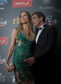 Антонио Бандерас со своей девушкой Николь