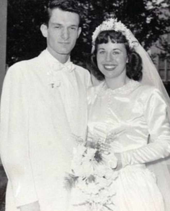 Хью Хефнер с Милдред Уильямс в 1949 году