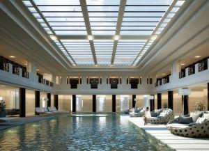 Общественный бассейн на территори Термального дворца
