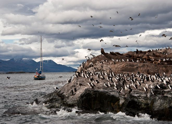 Огненная Земля - южная точка Чили