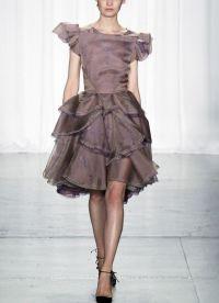 Uska haljina s bujnom suknjom 6