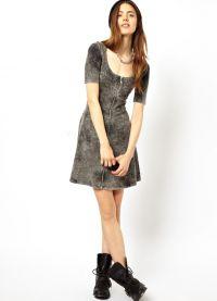 Dopasowana sukienka 4