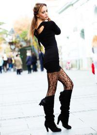 nogavice za črno obleko 4