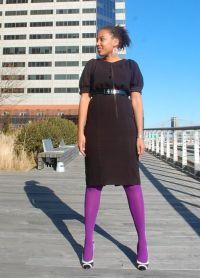 nogavice za črno obleko 9