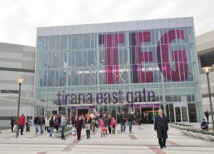 TEG (Tirana East Gate) фасад