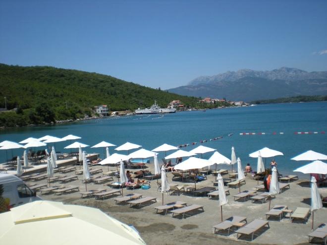 Один из участков пляжа