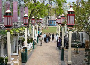 Ресторан в парке