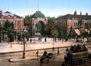 Парк Тиволи 100 лет назад