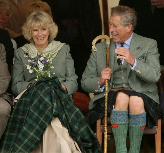 Камилла и принц Чарльз счастливы