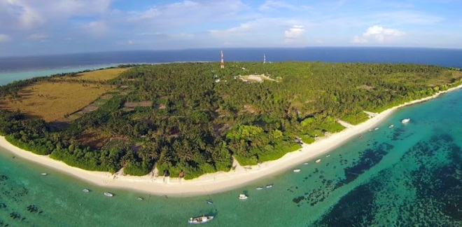 Буйство зелени острова Тодду