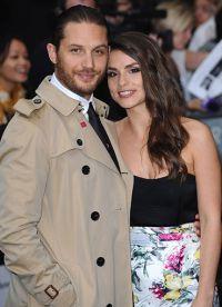 Том Харди и его жена прекрасно смотрятся