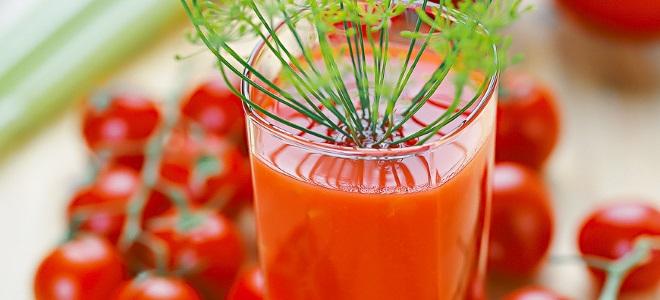 парадајз сок за зимски једноставан рецепт