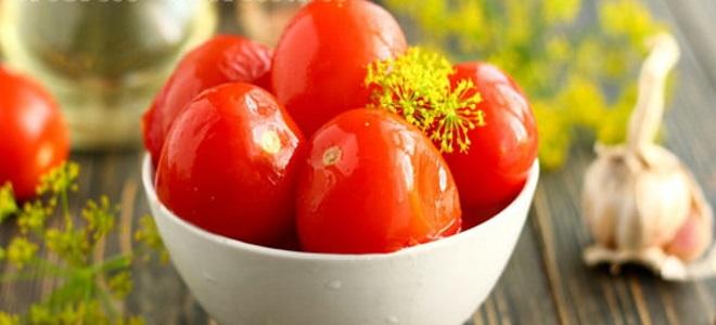pomidory zimny sposób na zimę bez octu