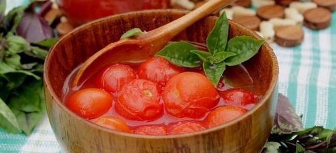 pomidory we własnym soku bez octu