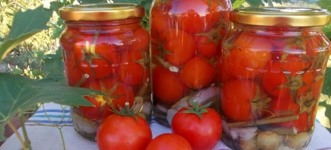 pomidory z aspiryną bez octu na zimę